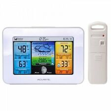 Digital Weather Station AcuRite Color LCD Wireless Indoor Outdoor Temperature