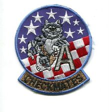 VF-211 CHECKMATES US NAVY GRUMMAN F-14 A TOMCAT Fighter Squadron Shoulder Patch