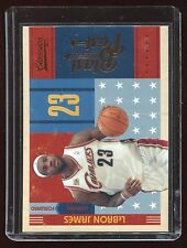 2010-11 Panini Classics Blast from the Past #3 LeBron James Cleveland Cavaliers