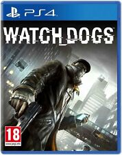 WATCH DOGS WATCHDOGS PS4 Game (BRAND NEW SEALED)
