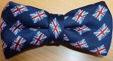 Union Jack UK British Flag Bow Ties UK Manufactured