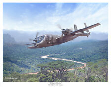 "OV-1 Mohawk Aviation Art Print - 11"" x 14"""