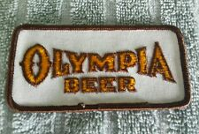OLYMPIA Beer Distributor Cloth Patch
