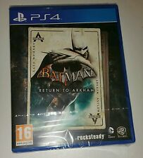 Batman: Return To Arkham PS4 New Sealed UK PAL Version Game Sony PlayStation 4