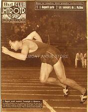 Le Miroir des Sports n°535 - 1955 - Anquetil - J Matheu - J Degats - St Etienne