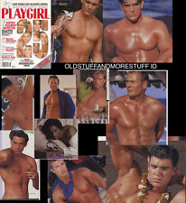 PLAYGIRL 6-98 JUNE 1998 25TH ANNIV TONS OF MEN! ERIC NIES BIG ISSUE collage