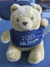 """I LOVE DALE JARRETT TEDDY BEAR 9"""" TALL NEW WITH TAG ACTION SPORTS IMAGE"""