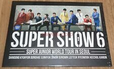 SUPER JUNIOR World Tour IN SEOUL SUPER SHOW 6 DVD + PHOTOBOOK + FOLDED POSTER