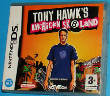 Tony Hawk's American Skateland - Nintendo DS NDS - PAL