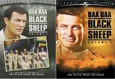 Baa Baa Black Sheep: Volumes 1 & 2 Bundle [DVD Box Set, Region 1, 5-Disc] NEW