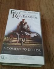 FOR ROSEANNA - JEAN RENO, MERCEDES RUEHL  -  VHS VIDEO TAPE