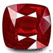 6 MM RUBY SQUARE CUSHION CUT NATURAL GEMSTONE AAA