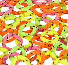 144  NEON FRIENDSHIP RINGS, VENDING, PARTY FAVOR, PINATAS, REDEMPTION, GOODY BAG