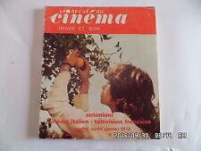 LA REVUE DU CINEMA IMAGE ET SON N°298 SEPT 1975 MICHELANGELO ANTONIONI     J48