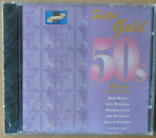 Solid Gold 50s - Bill Haley, The Platters, Frankie Laine u.a. - CD neu & OVP