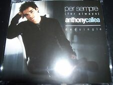 Anthony Callea Per Sempre (For Always) Australian DVD Single – Like New