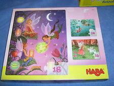 HABA n. 4962 - 3 puzzle di fata, 12, 15 e 18 parti