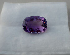 Amethyst cushion  gem 19 x 14mm