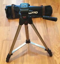 Professional Tripod Stand with Carrying Case -Great Condition-Vanguard Aluminum