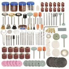 "166Pcs Rotary Power Tool Set 1/8"" Shank Sanding Polish Accessory Bit"