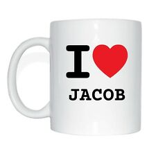 I love JACOB Tasse Kaffeetasse