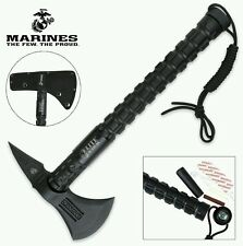 """""""U.S. MARINES"""" , USA TACTICAL AXE - COMBAT, 15"""" LENGTH (OFICIALLY LICENSED)"""