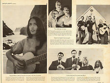 1960 Folk Music print photos, Joan Baez Kingston Trio Peter Paul and Mary 070514