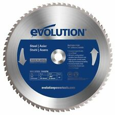 Evolution Power Tools 14BLADEST Steel Cutting Saw Blade, 14-Inch x 66-Tooth, New