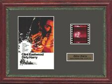 DIRTY HARRY CLINT EASTWOOD FRAMED 35MM FILM CELL