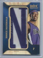 2008-09 Fleer Hot Prospects Rookie Materials Letter Patch Patrick Ewing Jr