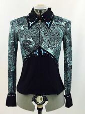 Small Western Show Pleasure Rail Shirt Jacket Clothes Showmanship Horsemanship