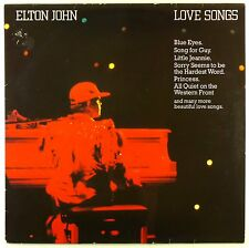 "12"" LP - Elton John - Love Songs - #L7668 - washed & cleaned"