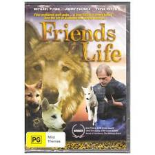 DVD FRIENDS FOR LIFE Michael Flynn Family Wolves Wolf Pups PG R4 NTSC [BNS]