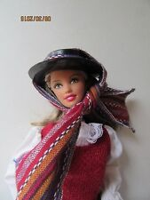 Barbie Doll Chile 2012 Dolls of the World Collection Cowgirl Espanol