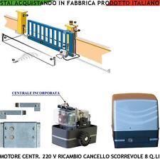 MOTORE RICAMBIO 220 V 270 W CENTRALE CANCELLO SCORREVOLE 8 Q.li COMPATIBILE BFT