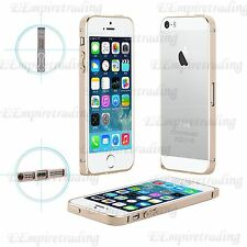 New Ultra thin Aluminum Metal Bumper Blade Case Cover Frame For iPhone 5 5S SE