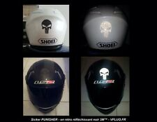 "Buy1 Get 1 Free! ""Reflective Punisher Vinyl Helmet,Hard Hats, Car Decal, Sticker"