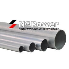 "4"" 100MM ALUMINIUM STRAIGHT PIPE TUBE 2.5MM LENGTH 100CM INTAKE"
