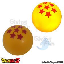 Dragon Ball Z DBZ 7 Stars Ball Sparkle Flash Light on Desk Ball Figure Orange