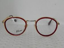 Revue 654 Red 140 Vintage 80's Womens Eyeglasses (JN30)