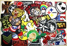 WHOLESALE Lot 50 Punk Rock Biker Car Cartoon Skull Shirt Jacket Iron on patch #1