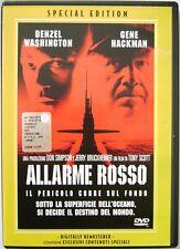 Dvd Allarme Rosso - Special Edition di Tony Scott 1995 Usato