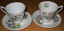 2/Royal ALBERT TAZZA & PIATTINO/Fiore Del Mese/Violet & May Biancospino