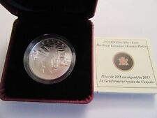 2013 Canada $10 Royal Canadian Mounted Police,.9999 fine (15.87 grams)