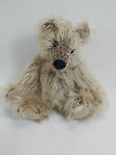 "World Of Miniature Bears Dollhouse  4"" Mohair Pellet Bear #5061 Latte"