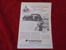 1935 PONTIAC SILVER STREAK SIXES and EIGHTS/ Reverse is