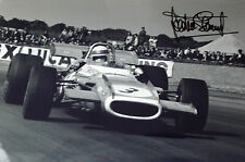 Jackie Stewart SIGNED 12x8 F1 Matra MS80 , British GP 1969 , Winner