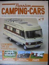 FASCICULE  4 PASSION CAMPING CARS HYMERMOBIL TYPE 650 A CHASSIS POIDS LOURD