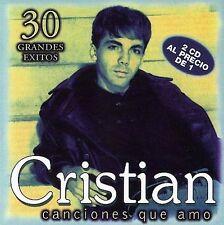 Canciones Que Amo by Cristian Castro (CD, Mar-2003, Universal)