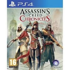 Assassin's Creed Chronicles Trilogy PS4 Game Brand New
